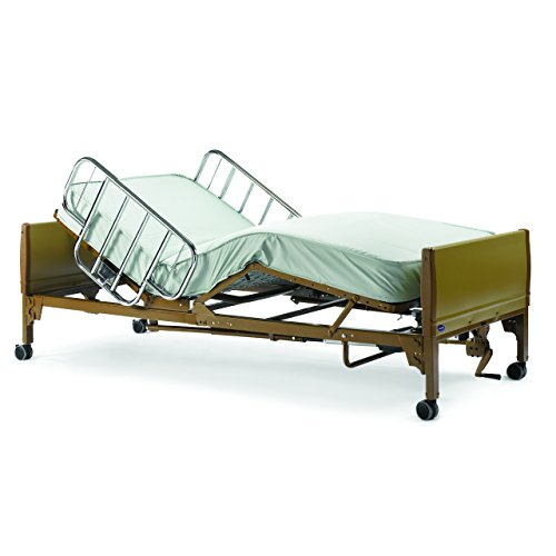 Full-Electric-Hospital-Bed-Package-Invacare-Full-Electric-Home-Hosckpital-Bed-Paage-wMattress-Rail-Set-0-1