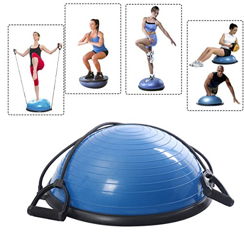 Giantex-Ball-Balance-Trainer-Yoga-Fitness-Strength-Exercise-Workout-Wpump-0
