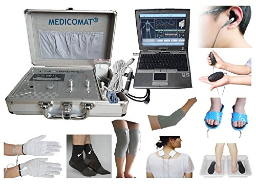 Health-Check-Systems-Medicomat-291E-Health-Care-Management-Computer-Hand-Foot-Knee-Elbow-Pads-Therapy-0