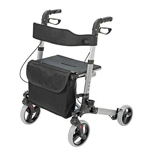 HealthSmart-Aluminum-Compact-Lightweight-Gateway-Folding-Rollator-Walker-0