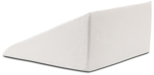 InteVision-Extra-Large-Foam-Wedge-Bed-Pillow-33-x-305-x-12-Color-White-with-High-Quality-400-Thread-Count-100-Egyptian-Cotton-Cover-0-1