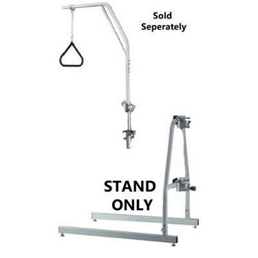Lumex-2840A-Trapeze-Floor-Stand-Chrome-Plated-0-0
