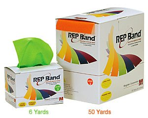 Magister-Resistive-Exercise-Rep-Band-Latex-Free-ORANGE-LEVEL-2-50-YARD-ROLLS-0