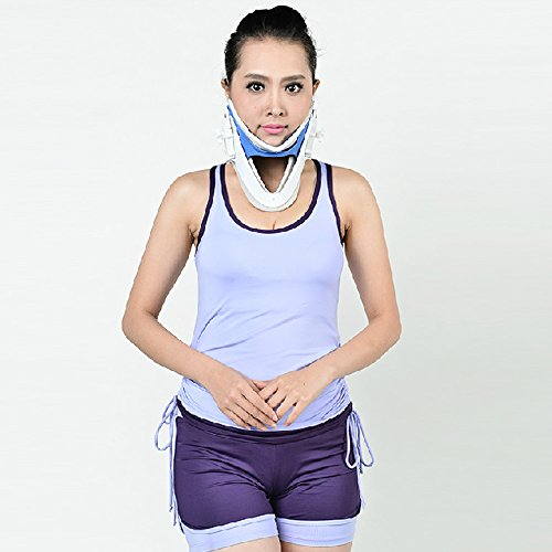Medical-Cervical-Collar-Neck-Brace-and-Support-Neck-Tractor-for-Neck-Spine-Treatment-0