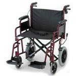 NOVA-332-Lightweight-Transport-Chair-with-Detachable-Arms-Hand-Brakes-and-12-Rear-Wheels-22-0-1