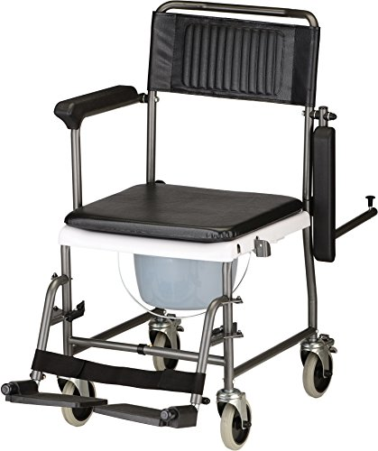NOVA-Medical-Products-8805-Drop-Arm-Transport-Chair-Commode-0