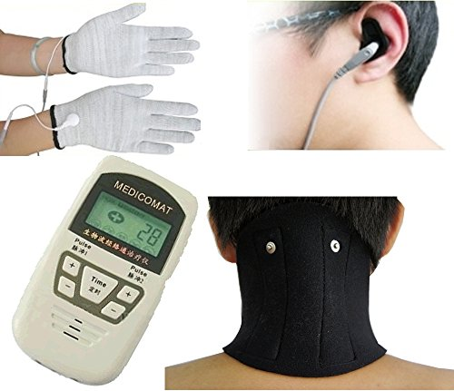Neck-Pain-and-Headache-Relief-Medicomat-10I-Neck-Ache-Migraines-Treatment-Arthritis-Neck-Conductive-Neck-Braces-Give-Support-Warmth-Acupuncture-Massage-Therapy-0