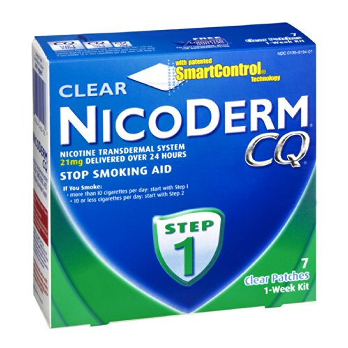 Nicoderm-CQ-Stop-Smoking-Aid-Step-1-7-Clear-Patches-1-Week-Kit-Pack-of-2-0