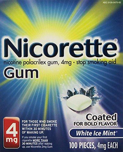 Nicorette-OTC-Stop-Smoking-Nicotine-Gum-4mg-White-Ice-Mint-0