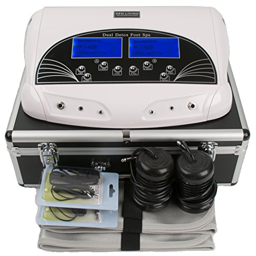 PROFESSIONAL-DUAL-LCD-IONIC-CELL-DETOX-FOOT-CLEANSE-BATH-SPA-MACHINE-CASE-0