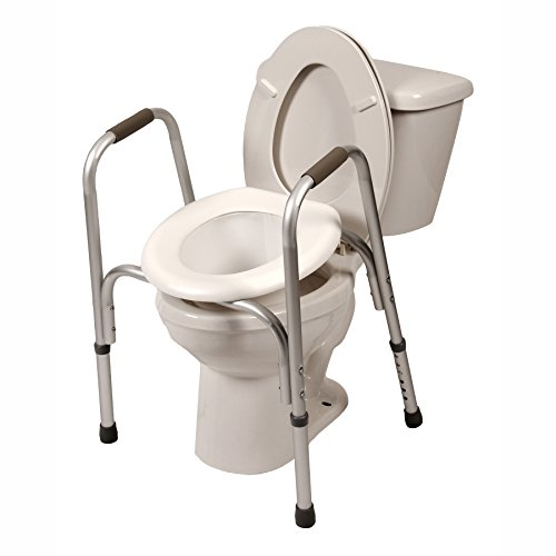 Raised-Toilet-Seat-w-Safety-Frame-Two-in-One-0-0