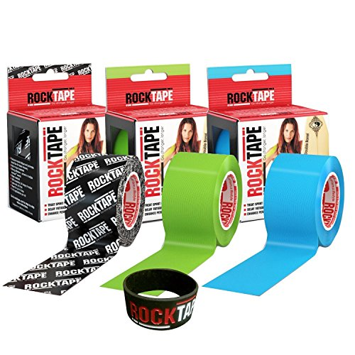 RockTape-Kinesiology-Tape-for-Athletes-3-Rolls-Combo-Pack-H2O-Black-LogoH2O-BlueH2O-Lime-0