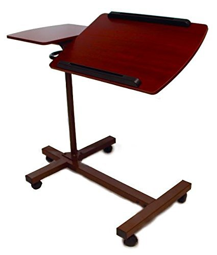 SHARPER-IMAGE-Best-Over-Bed-TableTM-Overbed-Adjustable-Tilt-Table-0-0