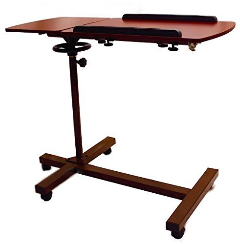 SHARPER-IMAGE-Best-Over-Bed-TableTM-Overbed-Adjustable-Tilt-Table-0