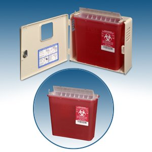 Sharps-Disposal-Wall-Cabinet-Combo-with-Sharps-Container-and-Glove-Box-0-0