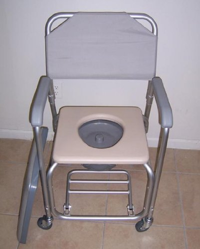 Shower-chair-with-wheels-padded-seat-commode-pail-and-cover-Tool-free-with-removable-back-rest-Dual-plastic-caster-locking-wheels-Overall-width-21-padded-seat-17-wide-height-fixed-38-depth-16-18-14-be-0-0