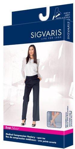 Sigvaris-Ever-Sheer-Knee-High-20-30mmHg-Womens-Open-Toe-Short-Length-Small-Short-Natural-0