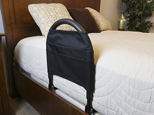 Stander-Bed-Rail-Advantage-Traveler-Portable-Folding-Travel-Rail-Bonus-Organizer-Pouch-Safety-Strap-Supports-400-lbsBariatric-0-0