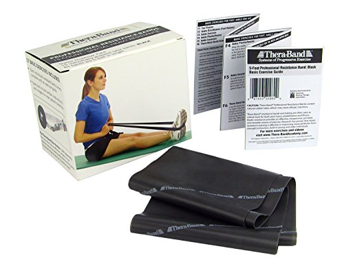 TheraBand-Professional-Latex-Resistance-Bands-For-Rehabilitation-Portable-Fitness-and-Workout-Home-Exercise-5-Foot-15-Count-0