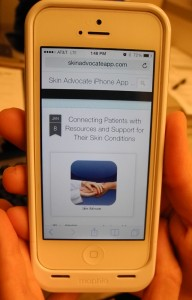 iPhone Close Up of App
