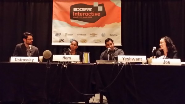 SXSW Panel with Jen Joe