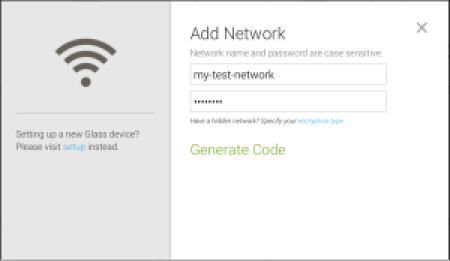 Setting up Wi-Fi Network via Website