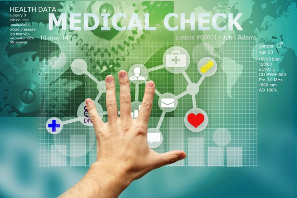 What are the opportunities presented by electronic medical records? Photo via Carlos Amarillo/ Shutterstock