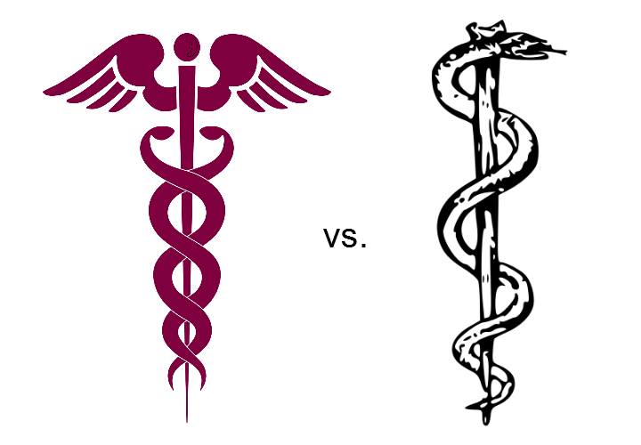 rod vs caduceus