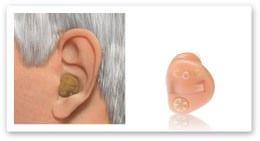 מכשיר שמיעה חצי בתוך האוזן