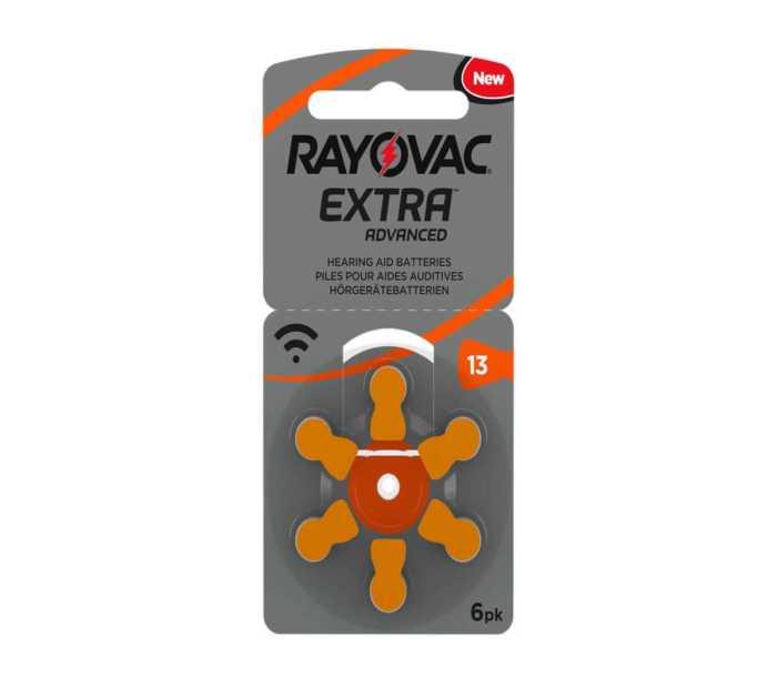 מארז 60 סוללות למכשיר שמיעה - RAYOVAC 13 1