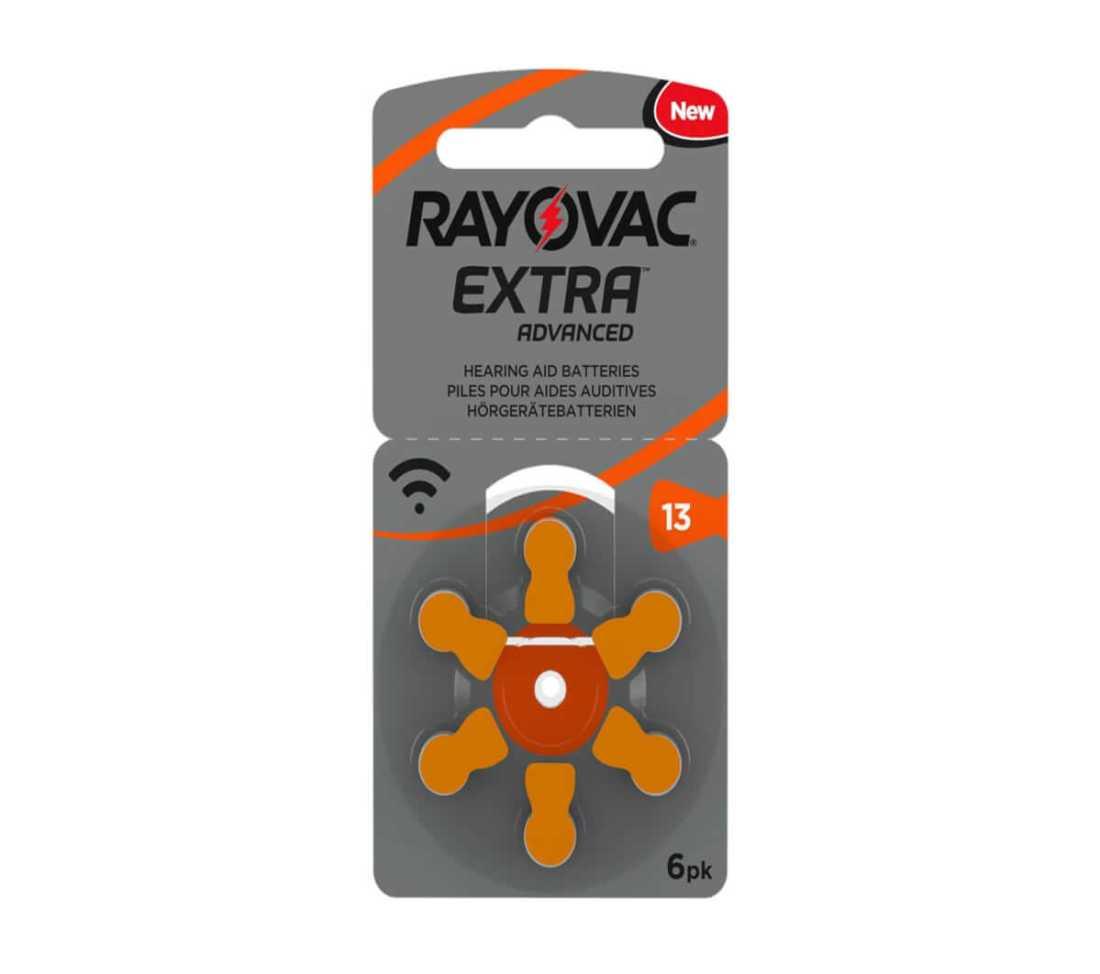 מארז 60 סוללות למכשיר שמיעה - RAYOVAC 13 6