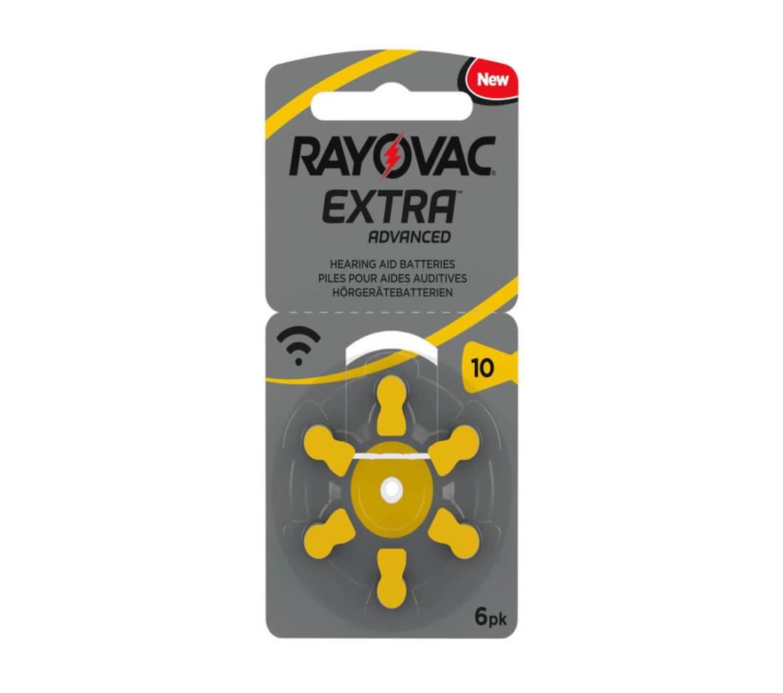 מארז 60 סוללות למכשיר שמיעה - RAYOVAC 10 9