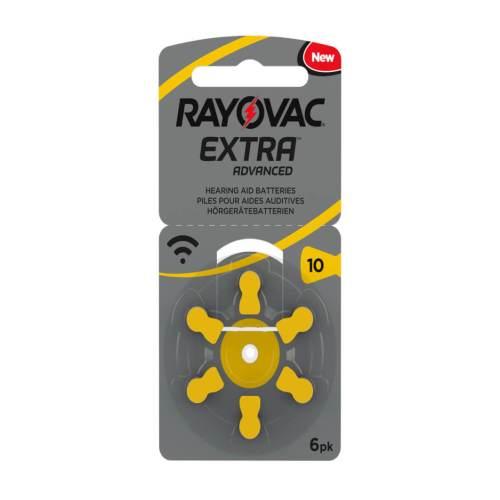 6 סוללות למכשיר שמיעה - RAYOVAC 10 1