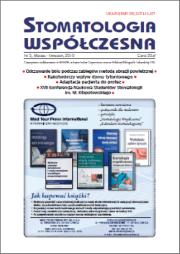Stomatologia Współczesna nr 2/2010