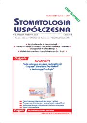 Stomatologia Współczesna nr 5/2009