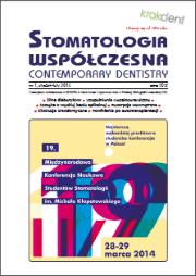 Stomatologia Współczesna nr 1/2014