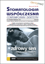 Stomatologia Współczesna nr 5/2012