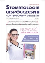 Stomatologia Współczesna nr 6/2016
