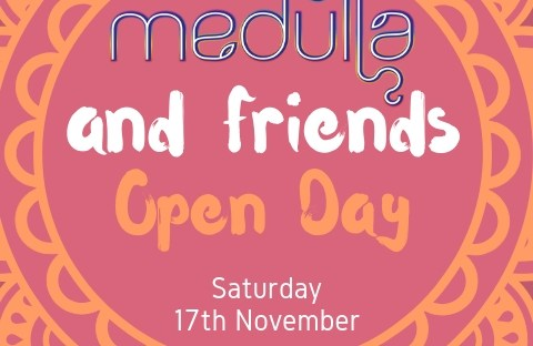 Medulla and friends open day flyer