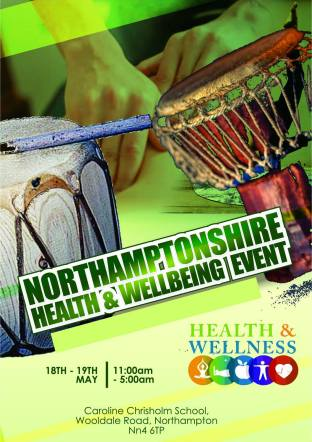 Flyer for Northants Health & Wellness event