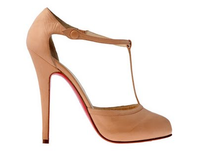 Christian Louboutin 'Cat Woman' shoe in nude 415