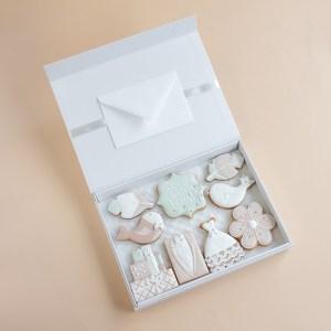 Vestuvinis sveikinimas magnetinėje dėžutėje