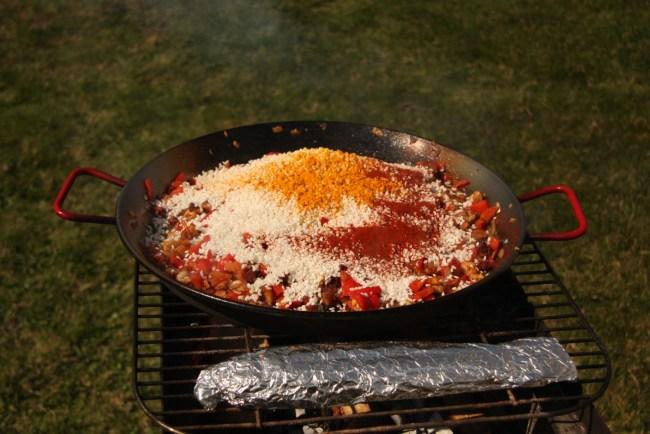 BBQ-Paella