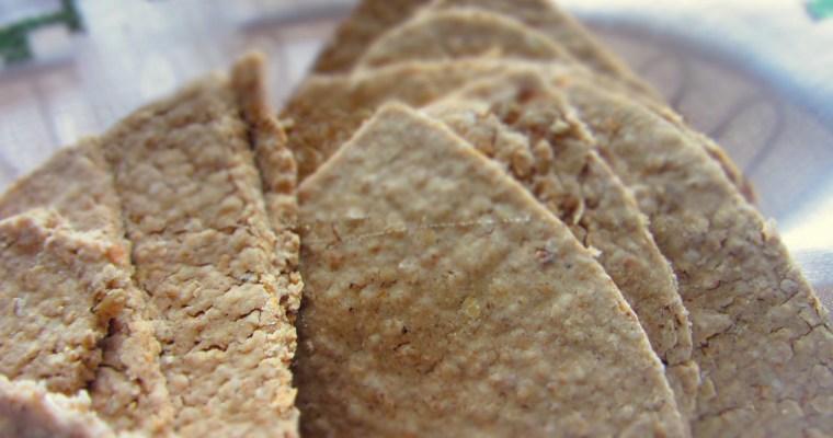 Sāļie auzu cepumi/galetes (oatcakes)
