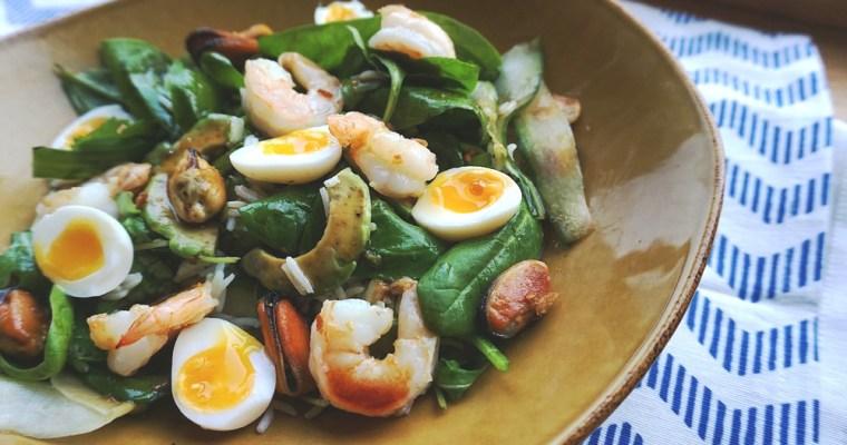 Garneļu salāti
