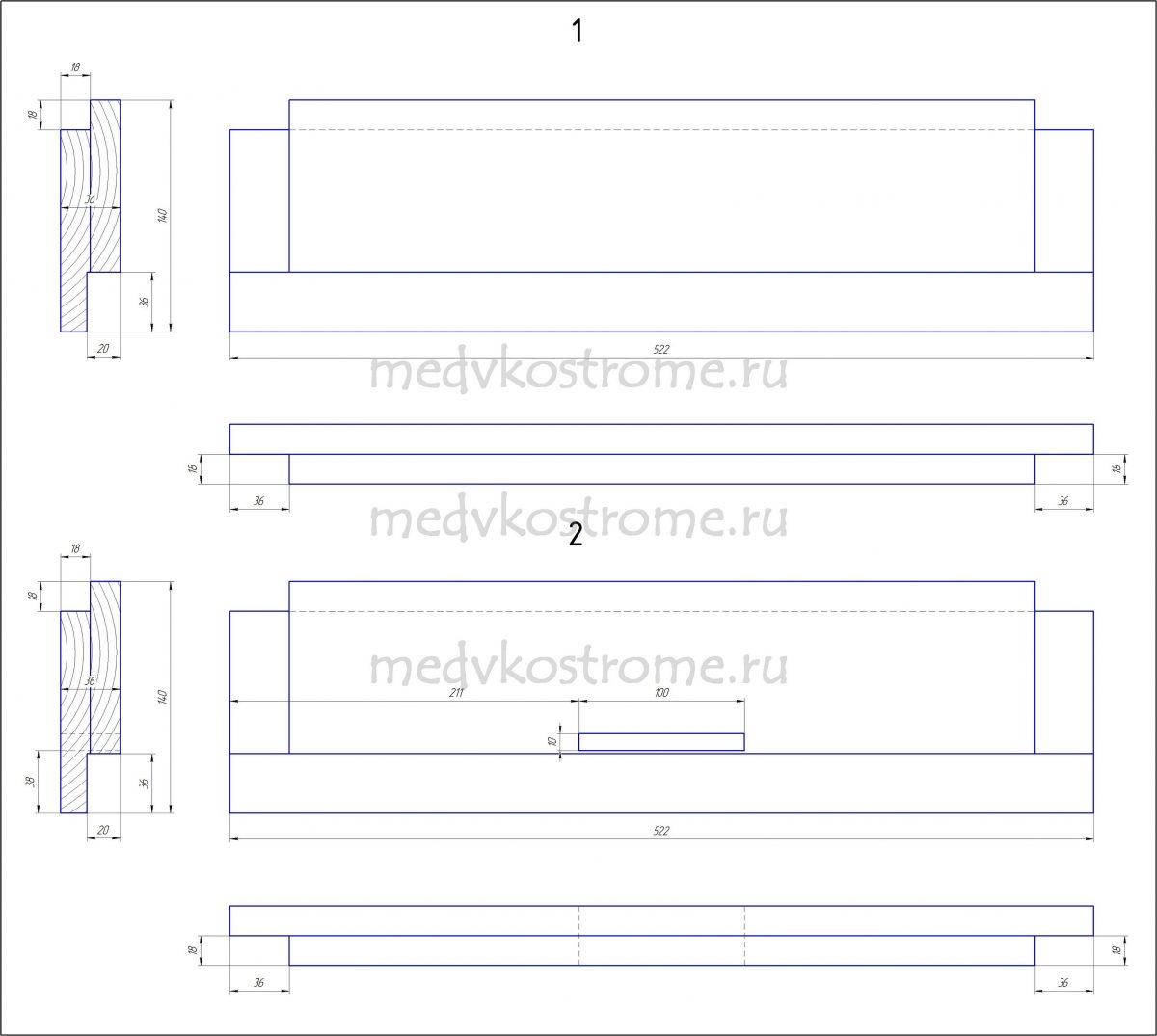 Улей лежак на 24 рамки своими руками его размеры фото 547