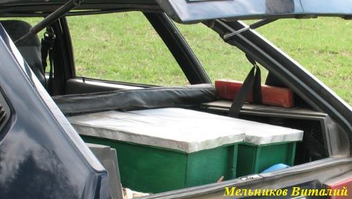 перевозка пчел в багажнике авто