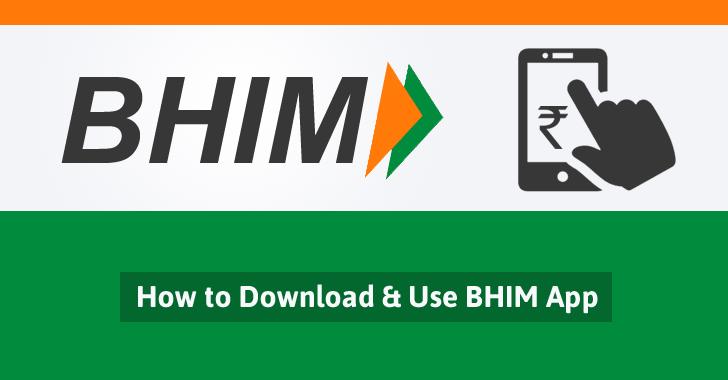 BHIM mobile payment app