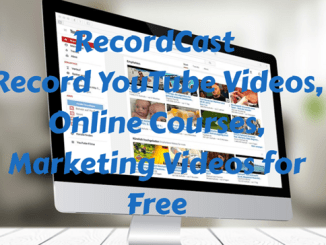 RecordCast: Free Online Screen Recorder & Video Editor