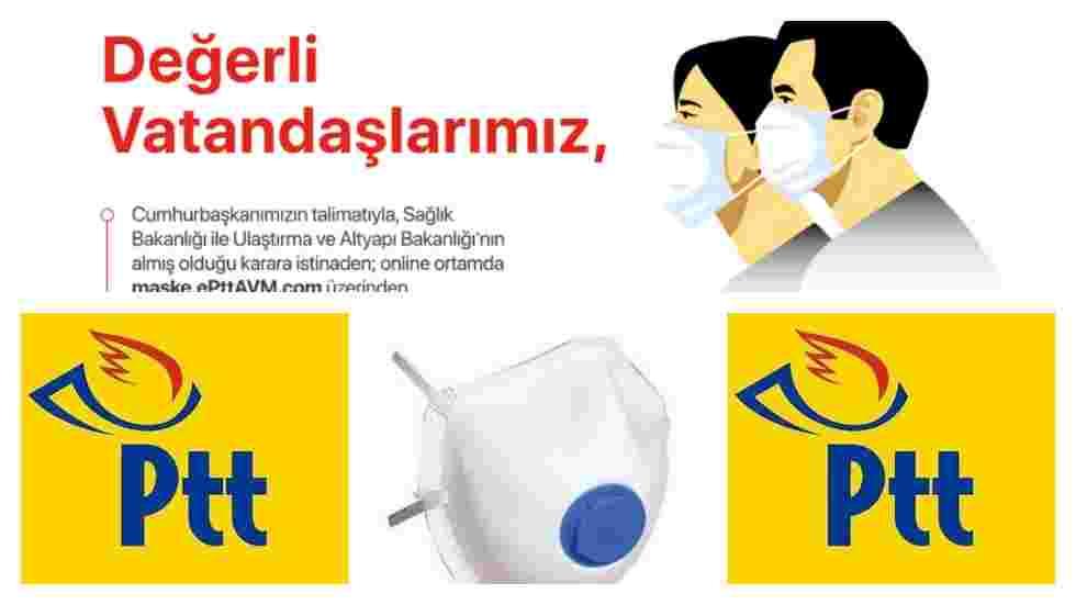 Ücretsiz PTT Maskeleri